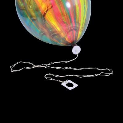 Foto van Ballonsluiter met lint 50st