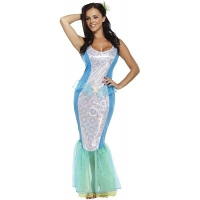Foto van Ariel de zeemeermin kostuum
