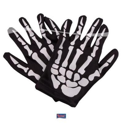 Foto van Skelet handschoenen kind