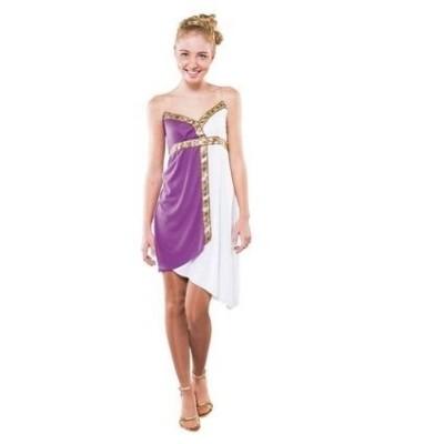 Foto van Romeinse dame kostuum