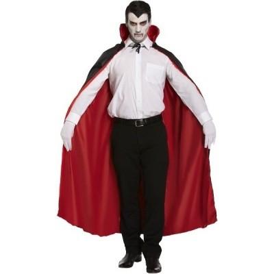 Foto van Dracula cape dubbelzijdig 115cm