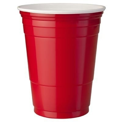 Foto van Red cups 473 ml (25 st.)