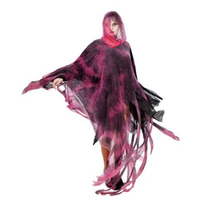 Foto van Halloween poncho rood