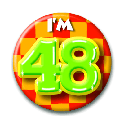 Button 48 jaar