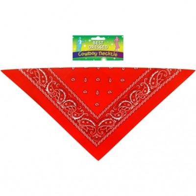 Foto van Cowboy zakdoek / bandana rood