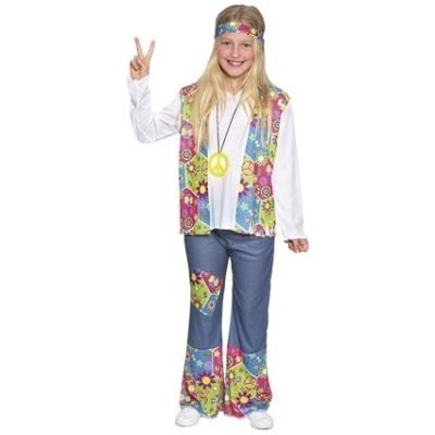 Foto van Hippie bloemenmeisje kostuum