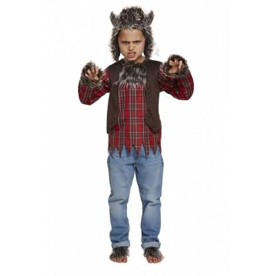 Foto van Weerwolf kostuum kind