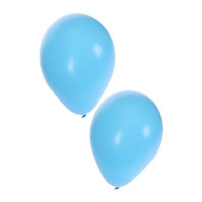 Foto van Ballonnen licht blauw 50 stuks 10inch