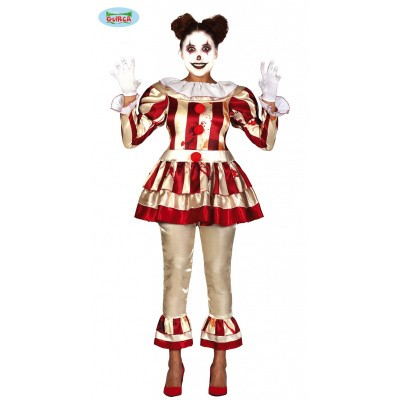 Foto van Horror clown dames kostuum