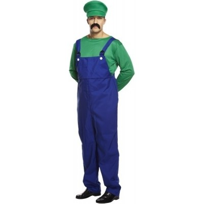 Foto van Luigi kostuum man