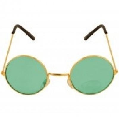 Hippie bril groen