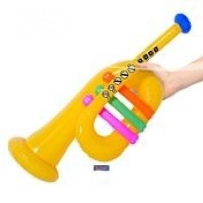 Foto van Opblaas trompet
