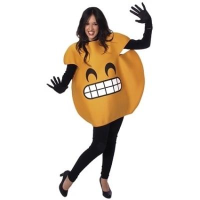 Foto van Emoticon kostuum grijns