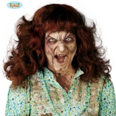 Foto van Halloween pruik - Bezeten vrouw