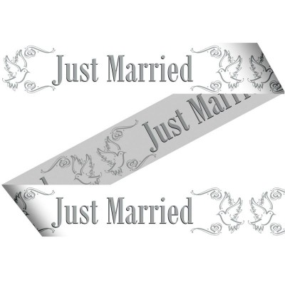 Foto van Markeerlint Just Married 15Mtr/stk
