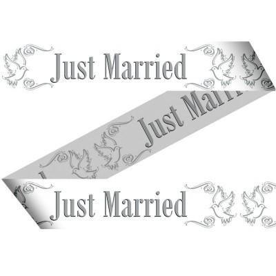 Foto van Markeerlint Just Married 15Mtr/stk