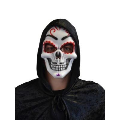 Foto van Day of the dead masker hard plastic
