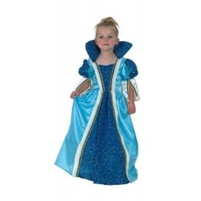 Foto van Prinses blauw 2-4 jaar (92-104cm)