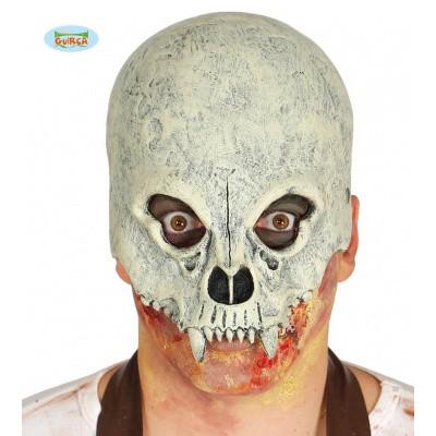 Foto van Skelet masker half