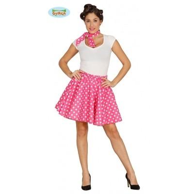 Foto van Roze polkadot set