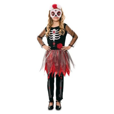Foto van Day of the Dead Jumpsuit met rok