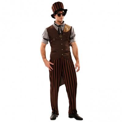 Foto van Steampunk kostuum heren