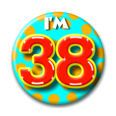Button 38 jaar