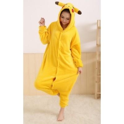 Foto van Pikachu kostuum volwassen pak