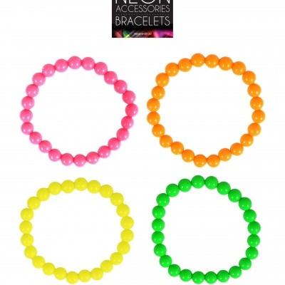 Neon armband 4 stuks
