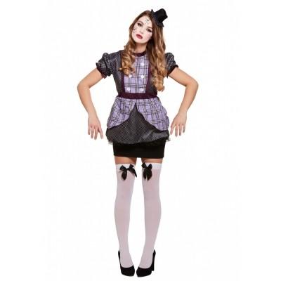 Foto van Kapotte pop kostuum vrouw