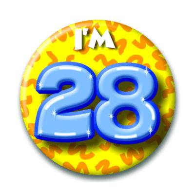 Foto van Button 28 jaar