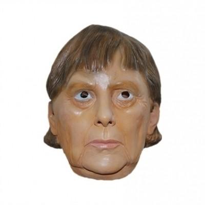 Foto van Angela Merkel masker