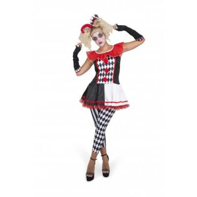 Foto van Joker kostuum - Harlekijn