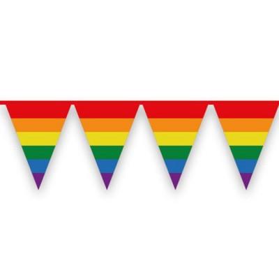 Foto van Vlaggenlijn Regenboog