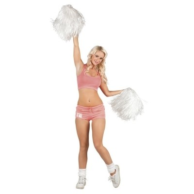 Cheerleader pompon wit