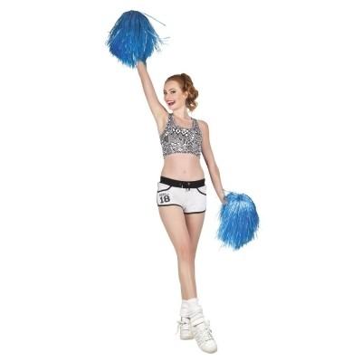 Foto van Cheerleader pompon blauw
