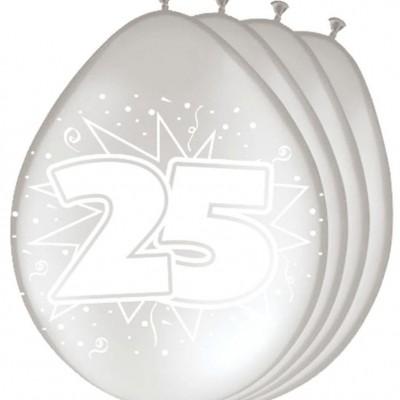 Folatex 12In/30cm 25 Met.Zilver/8st