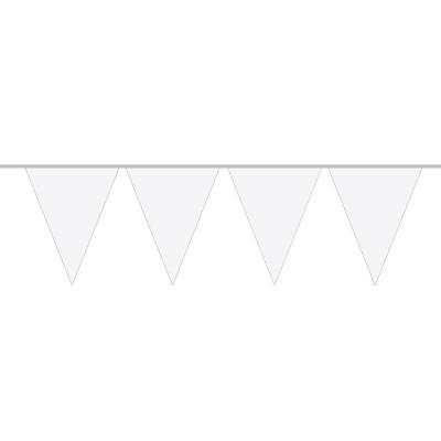 Foto van Mini Vlaggenlijn Wit /3mtr