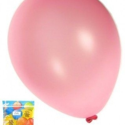 Foto van Kwaliteitsballon metallic fuchsia per 50 (Ø 14 inch / 36 cm)