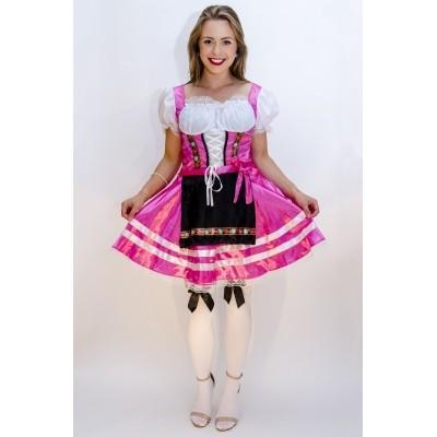 Foto van Oktoberfest jurkje Helena roze