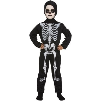 Foto van Skelet kostuum kind