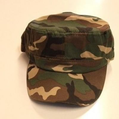 Foto van Legerpet camouflage verstelbaar