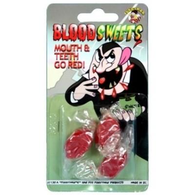 Foto van snoepjes bloedsmaak