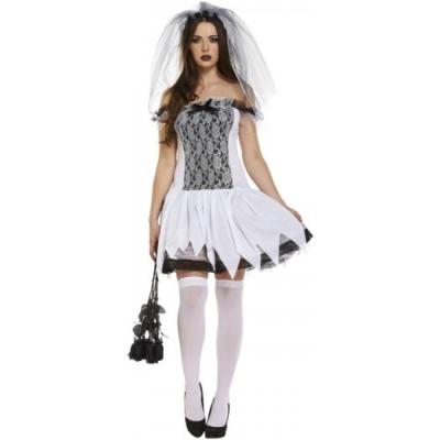 Foto van Dode bruid Halloween jurkje