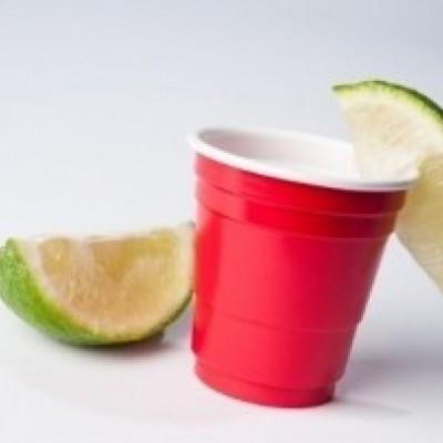 Foto van American red cup shot glaasjes 20 stuks