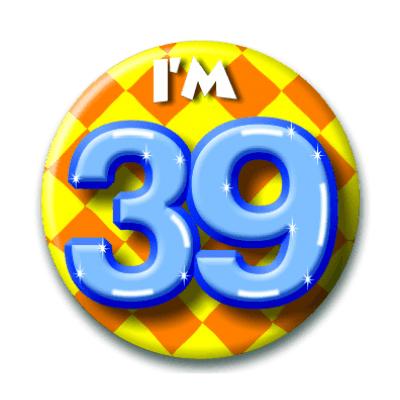 Foto van Button 39 jaar