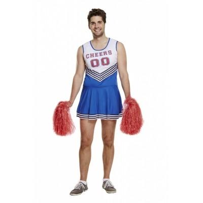 Foto van Cheerleader kostuum mannen