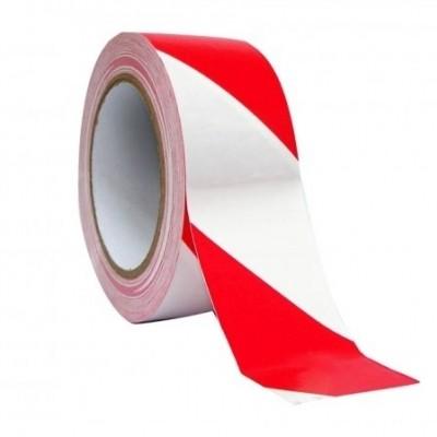 Foto van Afzetlint rood/wit gestreept