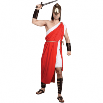 Foto van Spartaanse Soldaat kostuum