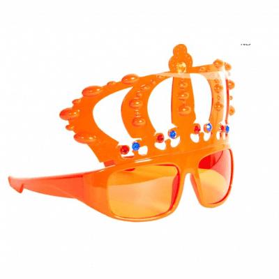 Bril Kroon Oranje